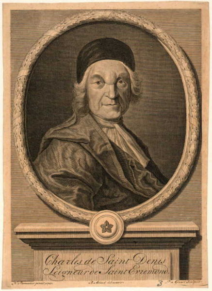 Charles de Saint Evremond